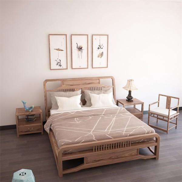 成都橡木床厂家 成都实木家具批发市场在哪 成都那里有木床批发_图片