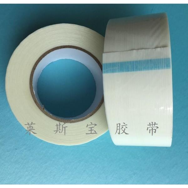 白色加香纤维胶带 高粘加香玻璃纤维胶带_图片